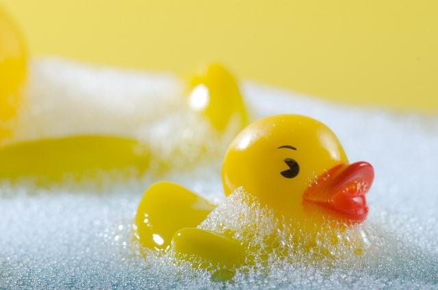 お風呂タイムは危険タイム