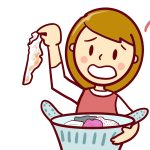 ちゃんと洗っているのに、洗濯物が黄ばんだり黒ずんだりするのはなぜ?